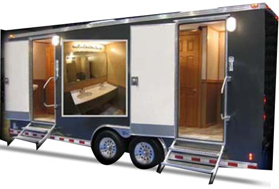 Luxury Ac Mobile Toilet Van For Rent Superloo India